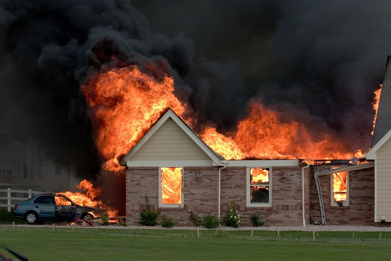 Home fire season is upon us: Do you have enough insurance?